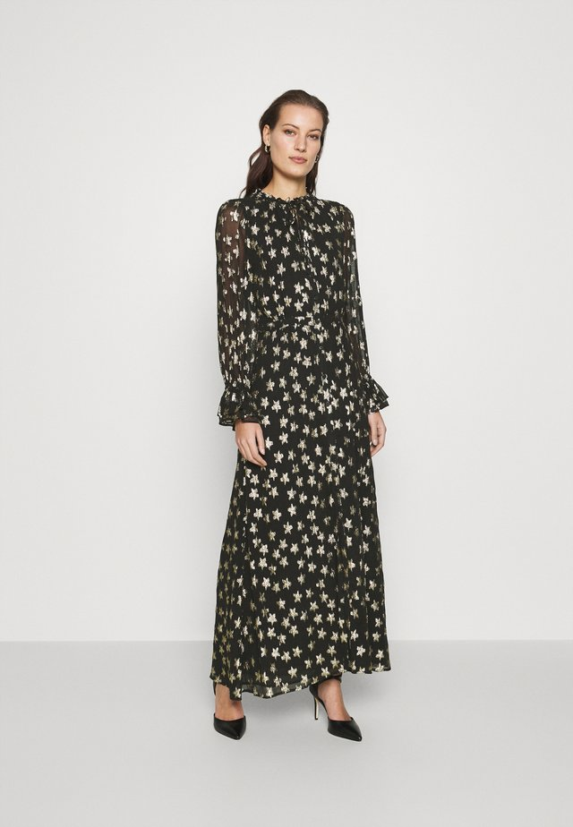 MAXIME DRESS - Maksimekko - black/gold