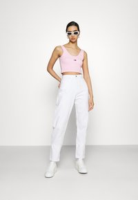Tommy Jeans - CROP  - Top - romantic pink - 1