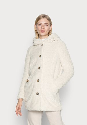 VMCOZYJOYCE TEDDY COAT BOOS - Cappotto invernale - oatmeal