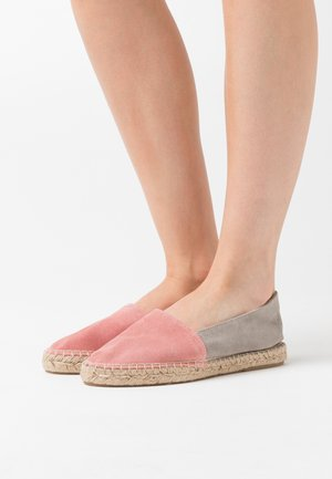 Loafers - grey/nude