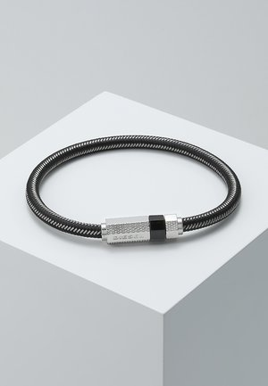 STACKABLES - Náramek - black/silver-coloured