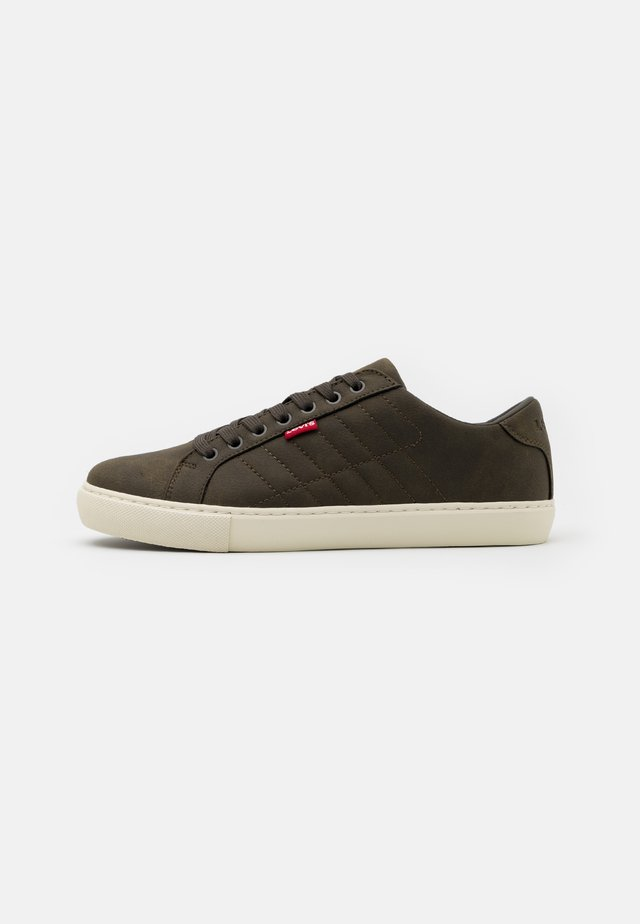 WOODWARD - Trainers - dark khaki
