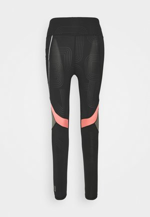ONPJOKI TRAIN  - Tights - black/tea rose