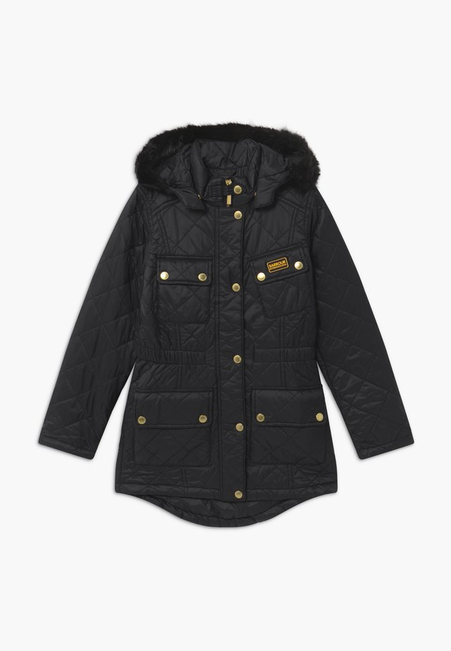 GIRLS ENDURO QUILT - Winter coat - black
