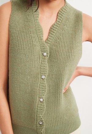 Veste sans manches - green