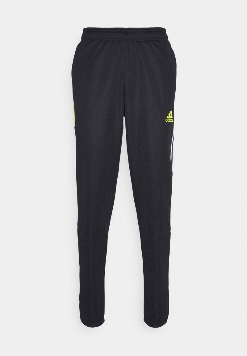 adidas Performance - TIRO  - Spodnie treningowe - black/yellow