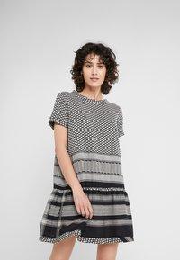 CECILIE copenhagen - DRESS - Day dress - black/stone - 0