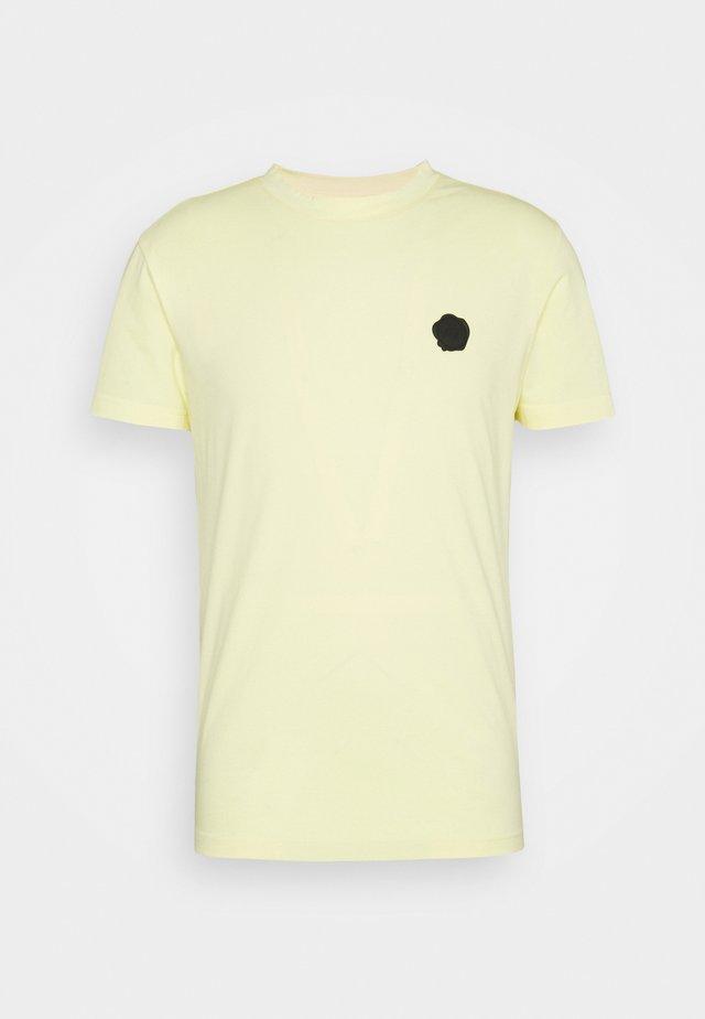 SEAL  - Print T-shirt - yellow