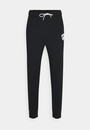 PANT - Tracksuit bottoms - black/white