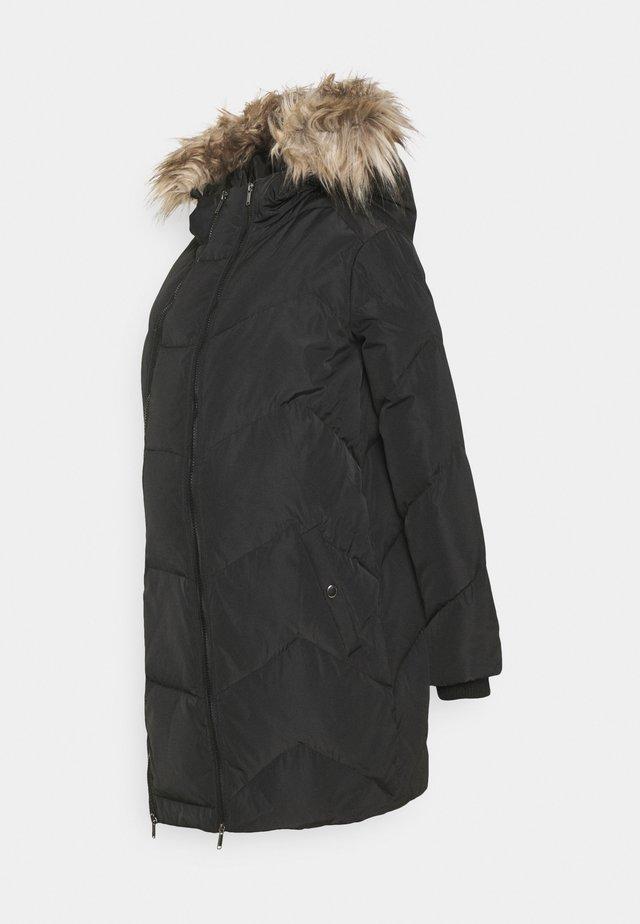 MLSICILIA  - Kabát zprachového peří - black
