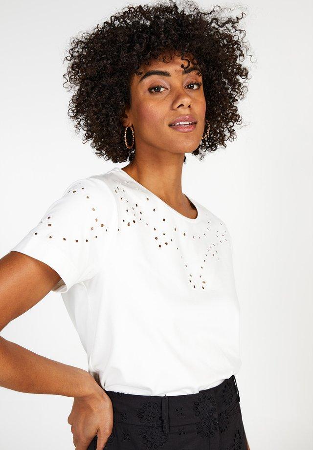 COLLECTION WOMEN T-SHIRTS W - Print T-shirt - brightwhite