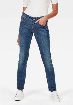 MIDGE SADDLE MID STRAIGHT NEW  - Straight leg jeans - medium aged