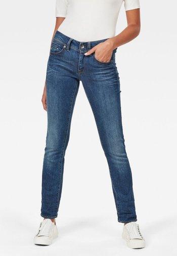 MIDGE SADDLE MID STRAIGHT NEW  - Straight leg jeans - medium aged