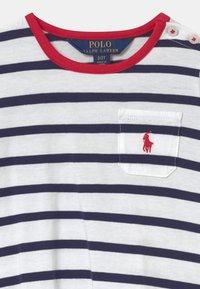 Polo Ralph Lauren - SWING  - Žerzejové šaty - white/french navy - 2