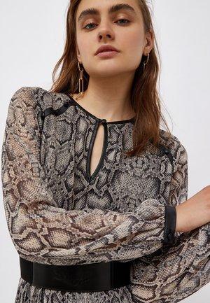Day dress - snakeskin