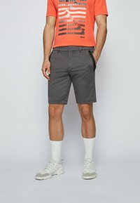 BOSS - Shorts - anthracite - 0
