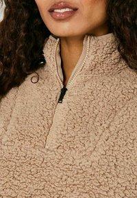 Noisy May - ANORAK - Fleece jacket - beige - 4