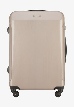 SET TRAVEL - Wheeled suitcase - beige