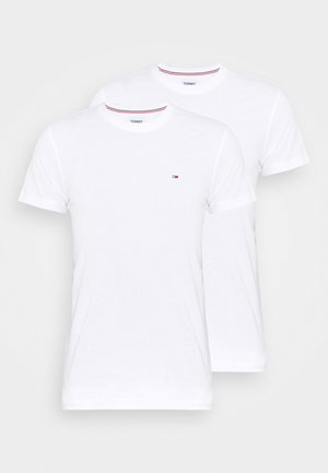 CNECK TEES 2 PACK - T-shirt - bas - white