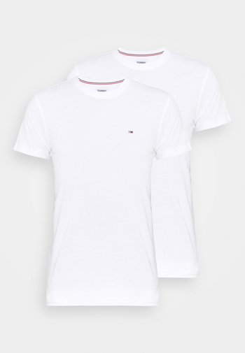 CNECK TEES 2 PACK - Jednoduché triko - white