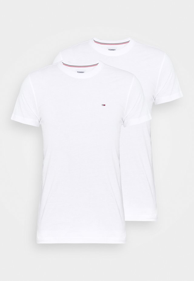 CNECK TEES 2 PACK - T-shirts - white