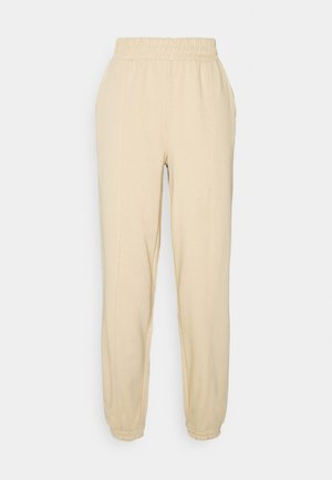 ONLDEA DETAIL PANTS - Tracksuit bottoms - warm sand