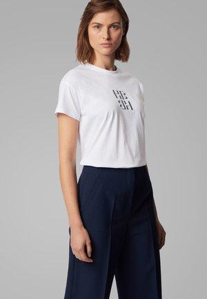 ECURATA_HB - T-Shirt print - open blue