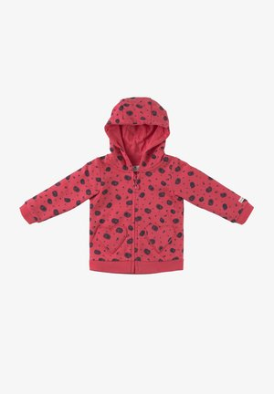 MIT HERZTA - veste en sweat zippée - geranium|red