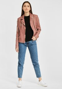 Gipsy - PGG LABAGV - Leather jacket - foggy rose - 1
