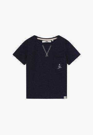 GILBERT TEE - Camiseta estampada - ebbe navy