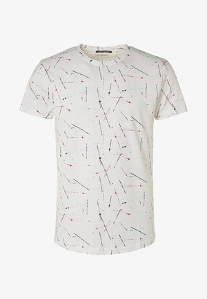 NO EXCESS  - Print T-shirt - white