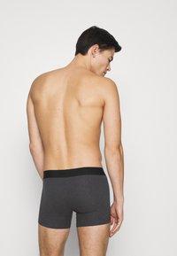 Levi's® - SOLID BASIC BOXER 2 PACK - Panties - anthracite melange - 1