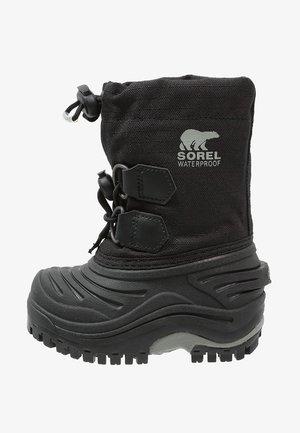 SUPER TROOPER - Winter boots - black