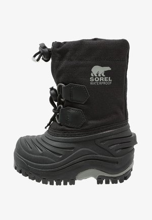 SUPER TROOPER - Zimní obuv - black