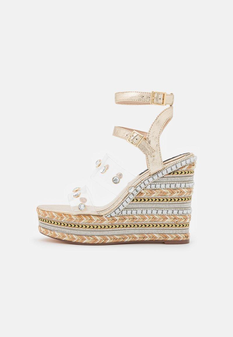 River Island - Platform sandals - gold
