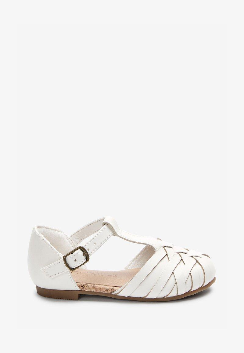 Next - Ballet pumps - white