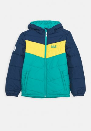 THREE HILLS JACKET KIDS - Winter jacket - green ocean