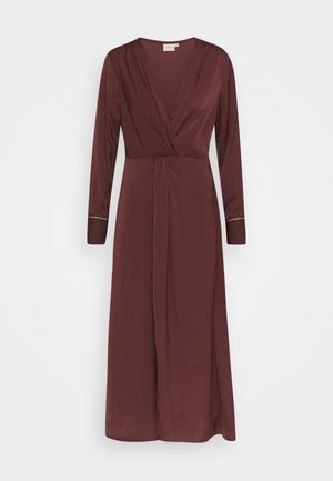 CHRISTY DRESS - Occasion wear - decadent chocolate