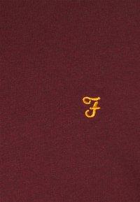 Farah - TIM CREW - Felpa - farah red marl - 6