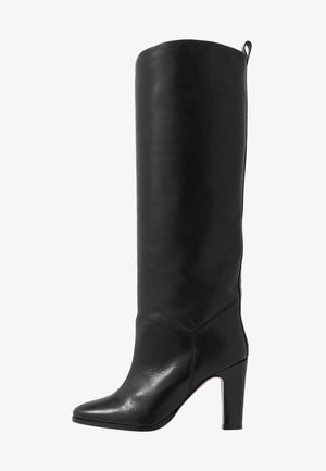 TRICONTA - High heeled boots - black