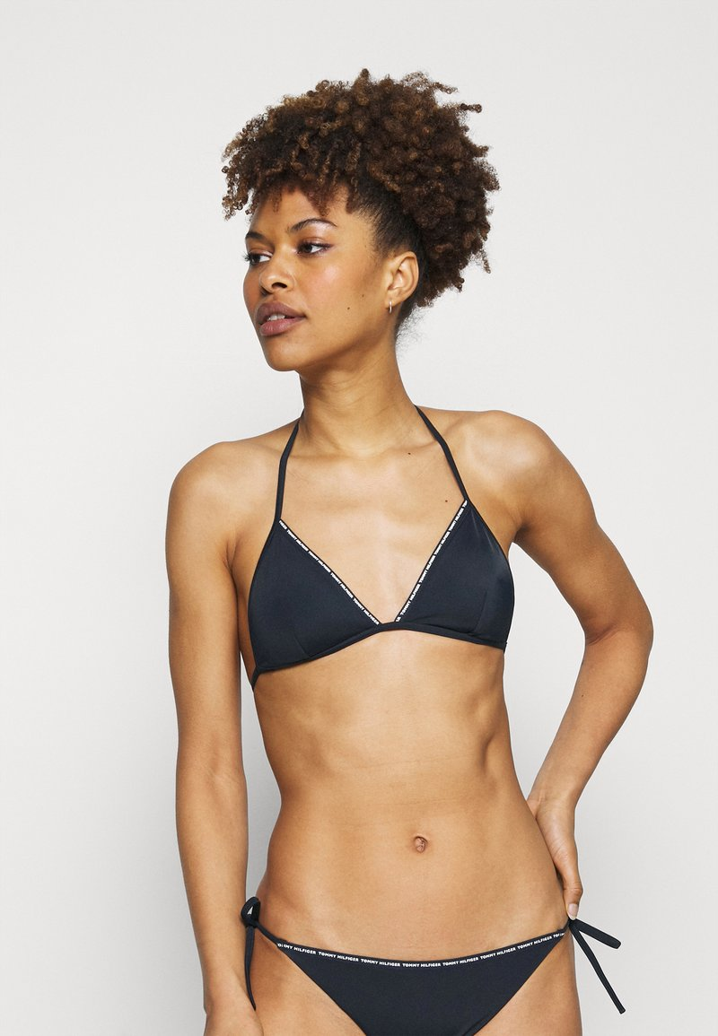 Tommy Hilfiger - TAPE EXCLUSIVE TRIANGLE - Bikini top - desert sky