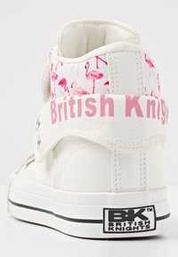 British Knights - ROCO - High-top trainers - white/flamingo - 3