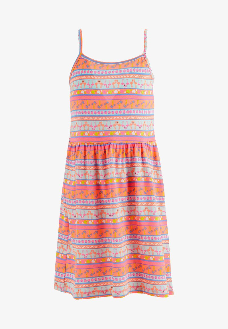 DeFacto - SUMMER - Jersey dress - pink/white
