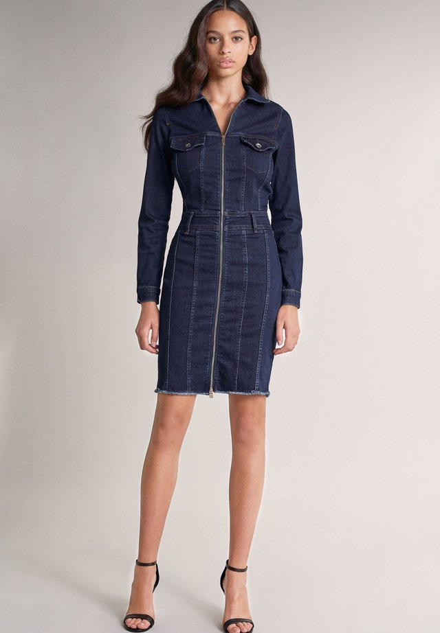 Denim dress - blau