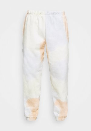 SUSTAINABLE TIE DYE - Tracksuit bottoms - pheasant multi