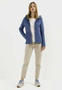 camel active - SCUBA - Zip-up sweatshirt - blue - 1