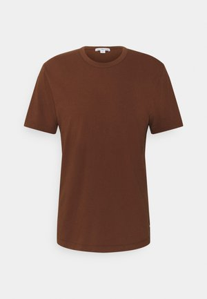 CREW NECK - T-shirt basic - brown
