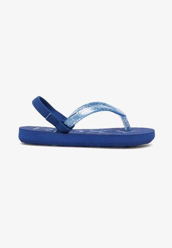 VIVA SPARKLE - T-bar sandals - dark navy