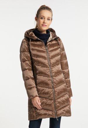 Zimní kabát - tabak
