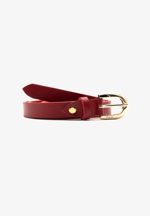 Belt business - rosso